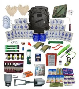 Extreme Survival Kit Deluxe for Four People