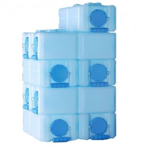 WaterBrick Stackable Water Containers and Food Storage Container