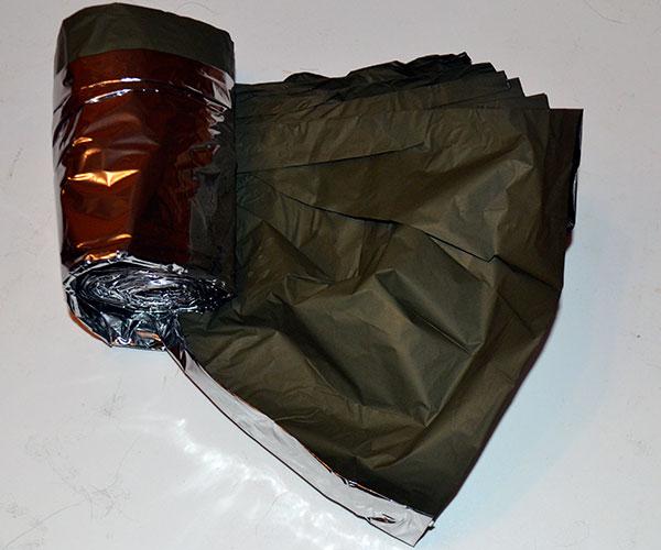 Emergency thermal (space) blanket