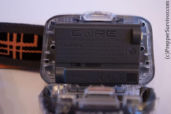 Petzl Accu CORE Rechargeable Lithium Battery