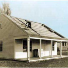 Solar House #1 of Massachusetts Institute of Technology in the United States, built in 1939, used Seasonal thermal energy storage for year-round heating.