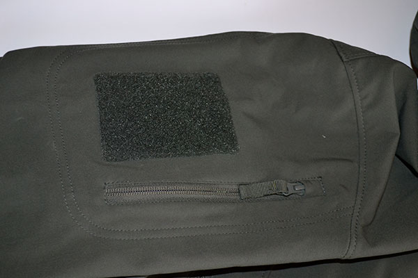Condor Summit Jacket Shoulder Pocket