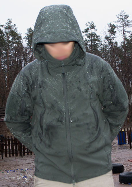 Condor Summit Soft Shell Tactical Jacket After the Rain
