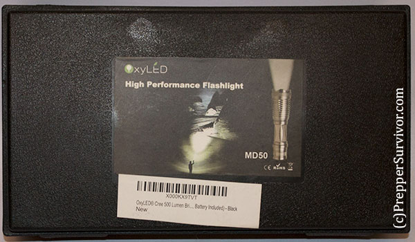 Oxyled MD50 Flashlight