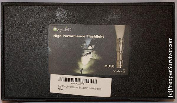 Oxyled MD50 Flashlight