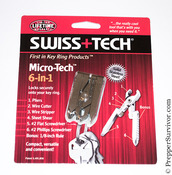 Swisstech Micro-tech 6-in-1 Multitool